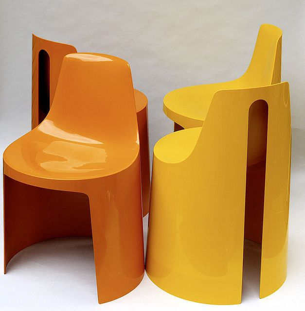 Plastic Seats | Plastolux | 1970s