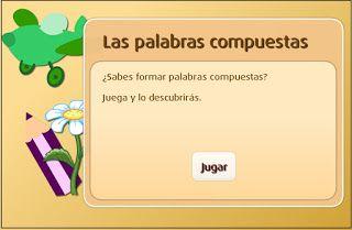 Colegio José Calderón: Palabras primitivas, derivadas y compuestas