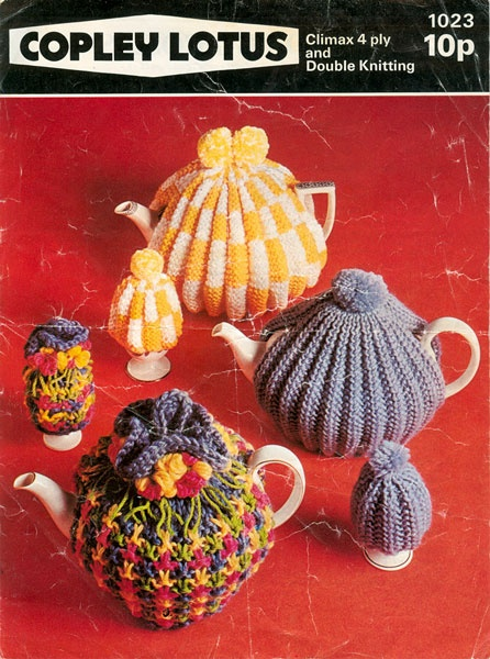 Vintage Tea Cosy Knitting Patterns Free : Best vintage knitted household items images on