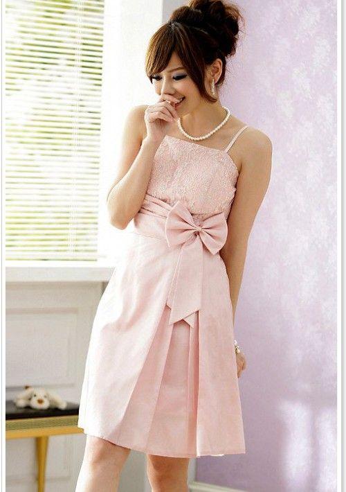 Elegantes Abiballkleid mit wunderschönem Blumenstickmuster in Rosa