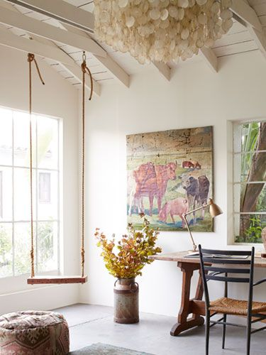 Swing In The Home Office Yes PleaseTour A