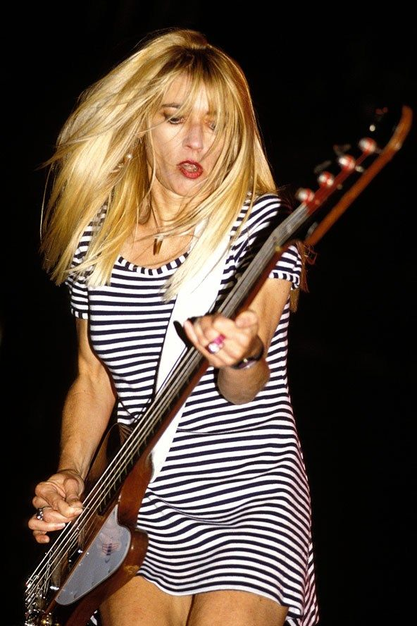 """Kim Gordon: """"Women aren't allowed to be kick-ass. I refused to play the game."""" from """"Girl in a Band."""""""