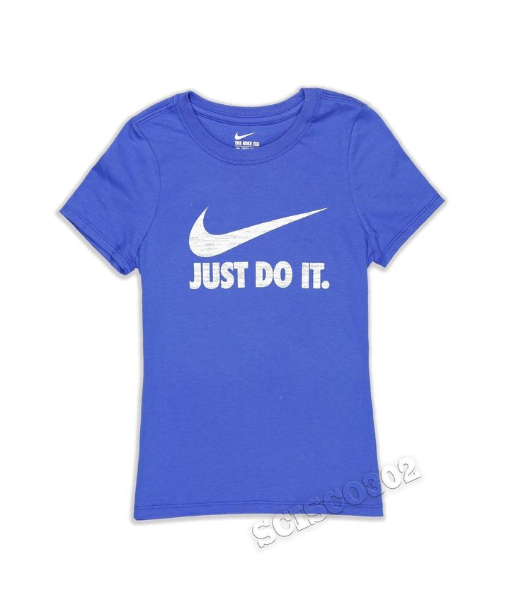 Nike t shirt blue short sleeve swoosh tee doesn 39 t have to for Kd t shirt nike