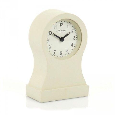 Thomas Kent Bantam Tall Cream Mantel Clock