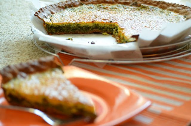 Enjoy Dessert!: Tarta cu branza, spanac si alte verdeturi
