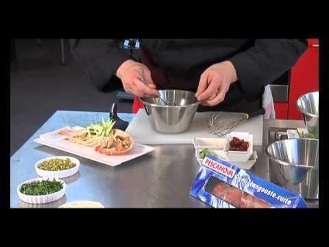 Les sauces pour accompagner la demi langouste cuite - YouTube