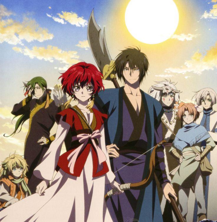 Adaptado do mangá escrito e ilustrado por Mizuho Kusanagi, Akatsuki no Yona mostra a história da princesa Yona do Reino de Kouka que, após ser vítima de uma traição política e familiar, precisa fugir para sobreviver.