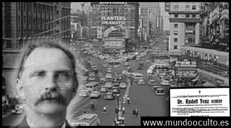 El misterio de Rudolph Fentz el crononauta que apareció en apareció en el Times Square