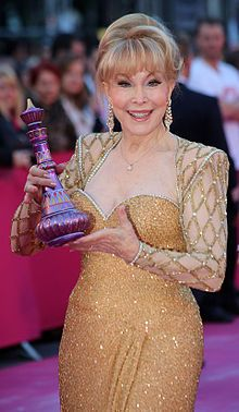 """Barbara Eden is an American film, stage, and television actor, comedienne, and singer. She is best known for her starring role of """"Jeannie"""" in the sitcom I Dream of Jeannie."""