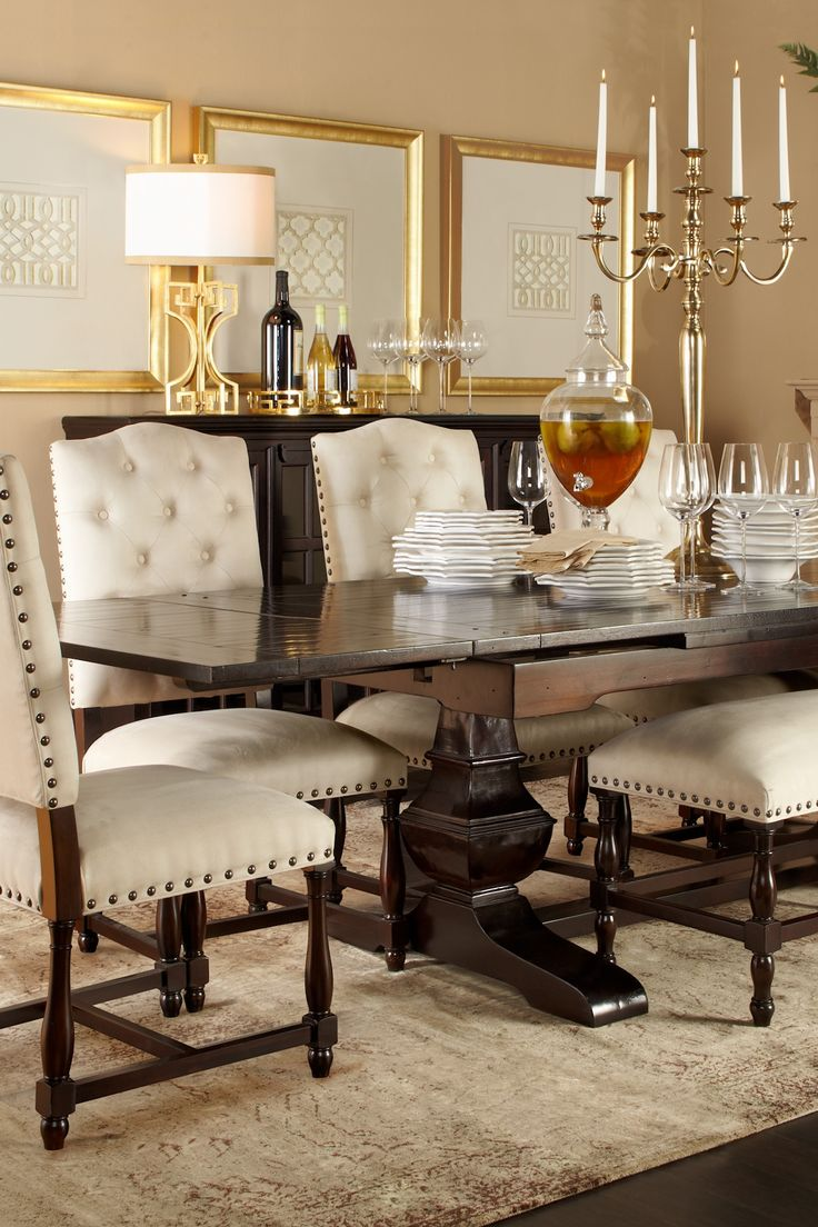 A warm and welcoming fall table traditional twist for Glam dining room ideas