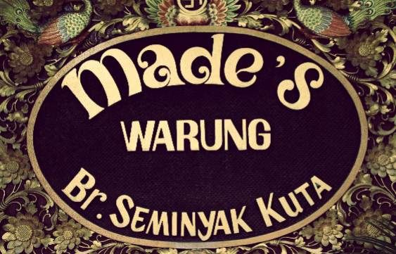 Made's Warung in #Semiyak serves a huge variety of balinese, western, thai and fusion food #Bali