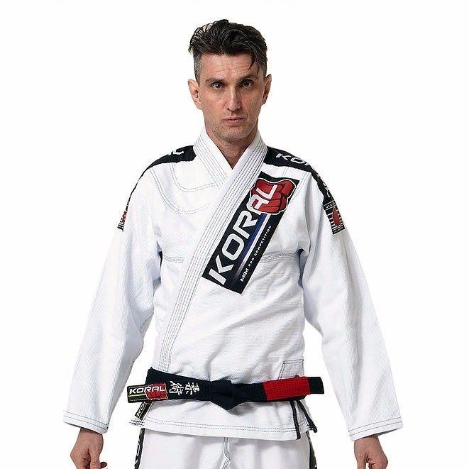KORAL MKM Competition Jiu-jitsu Uniform Jiu jitsu GI BJJ Brazilian Brazil White #Koral