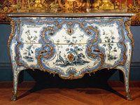 Китайский комод: стиль Луи XV