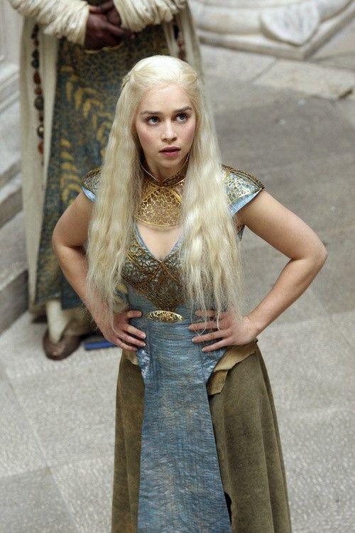 Emilia Clarke as Daenerys Targaryen (Game of Thrones)