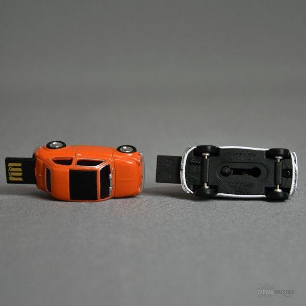 Clé USB 8 Go Fiat 500 renversé #fiat #voiture #car #usb