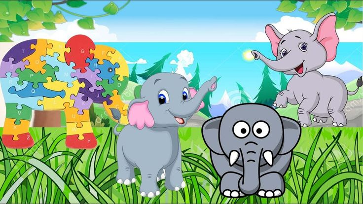 Small Elephant Toy Blocks For Kids: Funny Elephant