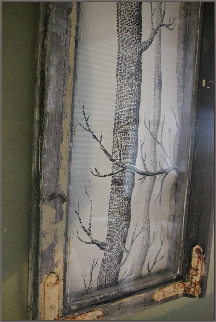 Vintagentti: Maisema ikkunan takana