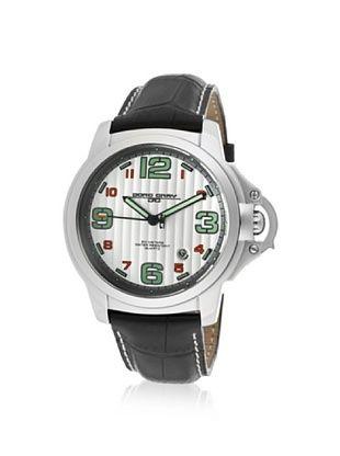 Jorg Gray Men's JG1850-26 Black/Silver Leather Watch