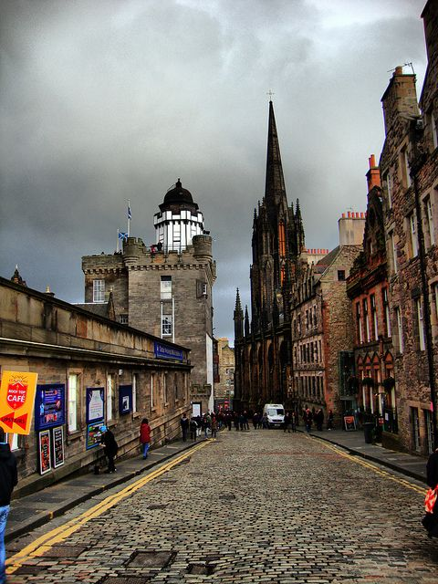 The Hub  and Camera Obscura, Edinburgh, Scotland http://www.thehub-edinburgh.com/ http://www.camera-obscura.co.uk/
