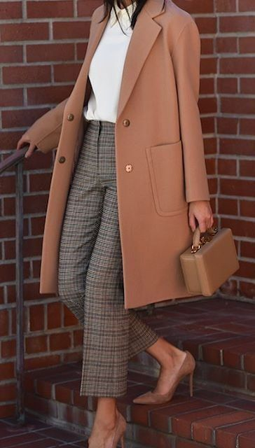 17 Winter Outfit Ideen für das Büro # Winteroutfit # Businesscasual