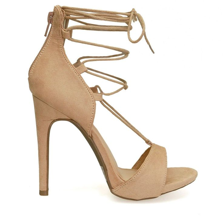 1000  ideas about Beige Strappy High Heels on Pinterest | Pumps ...