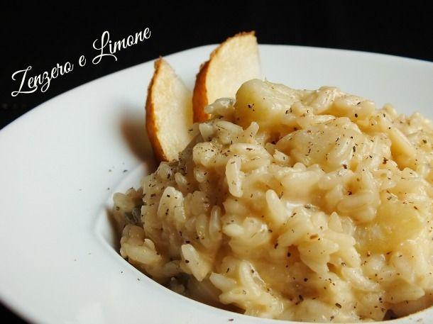 risotto pere gorgonzola -