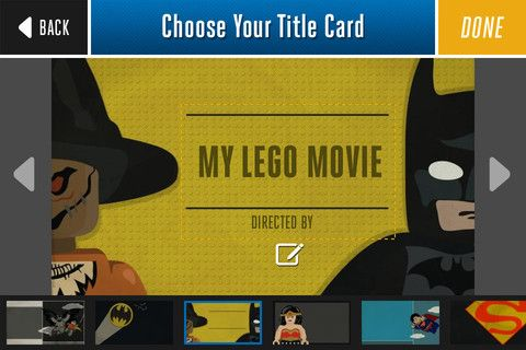 A great way for young kids to make movies with their Lego Figures.  My 6 year old made one that was really cute.
