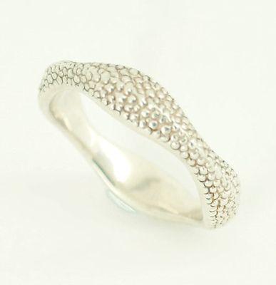 Silver Wave Ring by Stephen Webster.  #unusual #wedding #rings #London #Nude #Jewellery