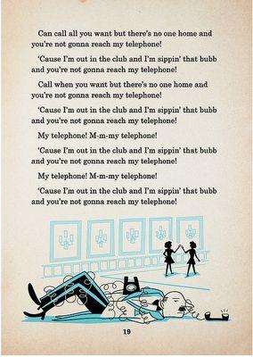 Telephone lyrics #2
