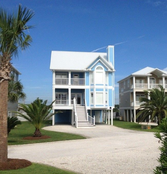 Gulf Shores Beach House Rentals With Pool: Gorgeous, 7BD Beach Home In Gated Community! Pool, Tennis