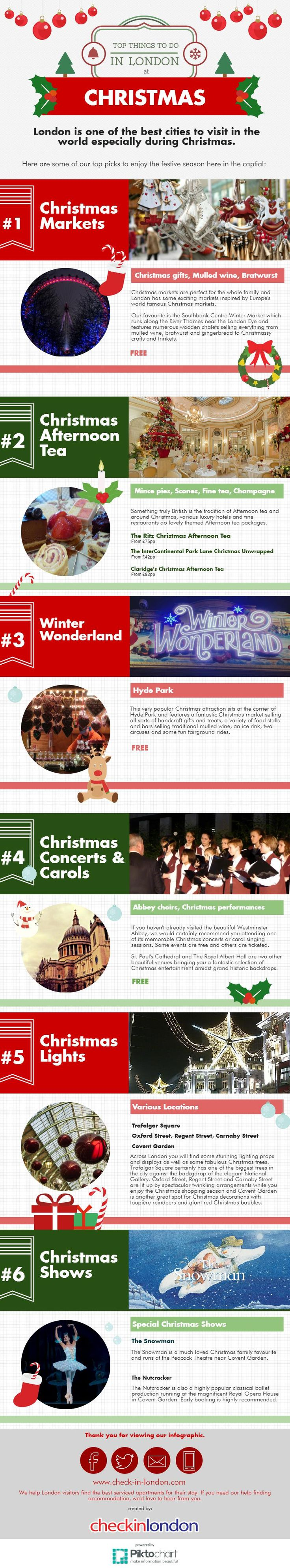 The best things to see and do at Christmas in London