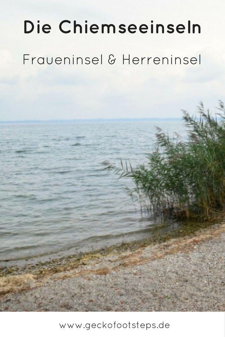 """Die Chiemsee Inseln sind das Highlight bei einem Besuch am """"Bayerischen Meer"""". So nah sie auch beieinander liegen, so unterschiedlich sind sie dennoch."""