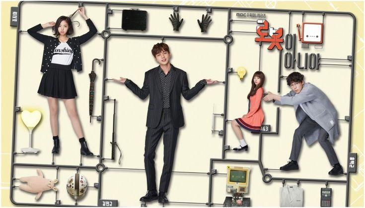 I'm Not a Robot. cadena MBC. Estreno Noviembre 2017, Actores Chae Soo Bin Y Dong Ha Comedia romántica de fantasía