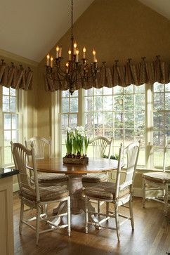 Country French Dining Room Valance IdeasWindow