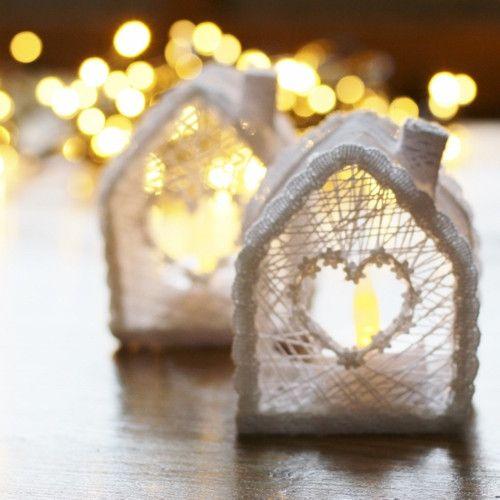 Svítící domeček....