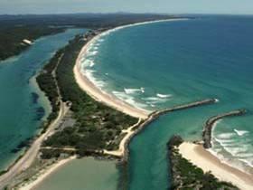 Wooli Beach, NSW my holiday house is here love it