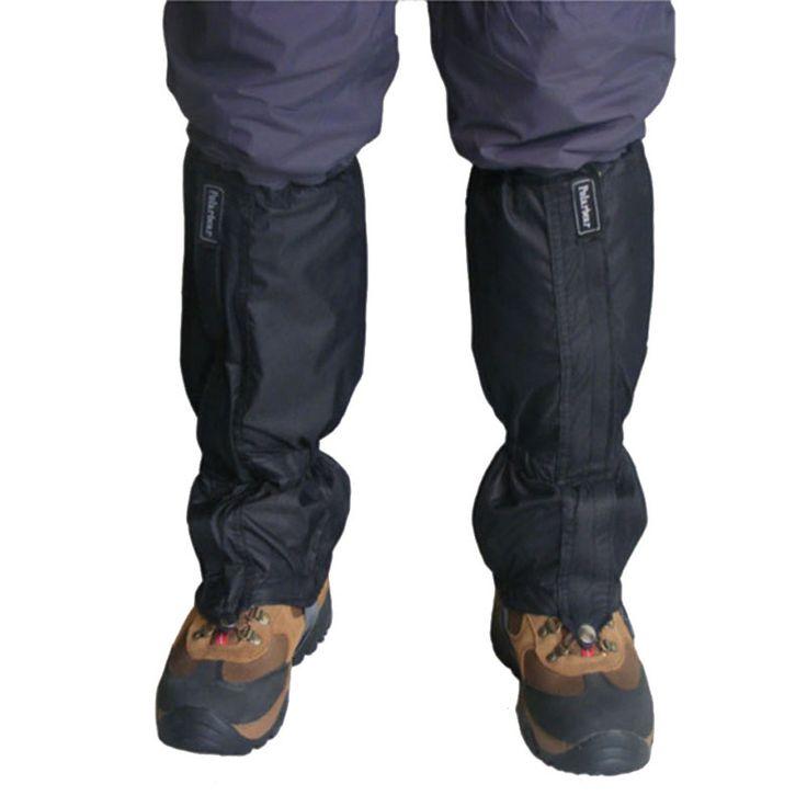 Nuovo 1 Paia Esterna Impermeabile Escursionismo Camminare Arrampicata Neve Legging Ghette Migliore Qualità ISP