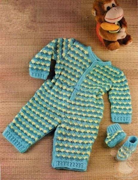 Летние кофточки и костюмы для малышей крючком схемы описание