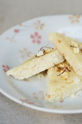 Easy-For-Kids Recipe for Coconut Burfi, a traditional Diwali treat!