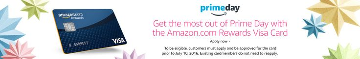 #Amazon: Prime Day Offer: Get $30 off your purchase of $150 or more with the Amazon.com Rewards Visa Card #LavaHot http://www.lavahotdeals.com/us/cheap/prime-day-offer-30-purchase-150-amazon-rewards/103240