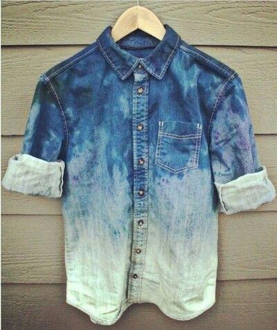 Acid wasch jacket