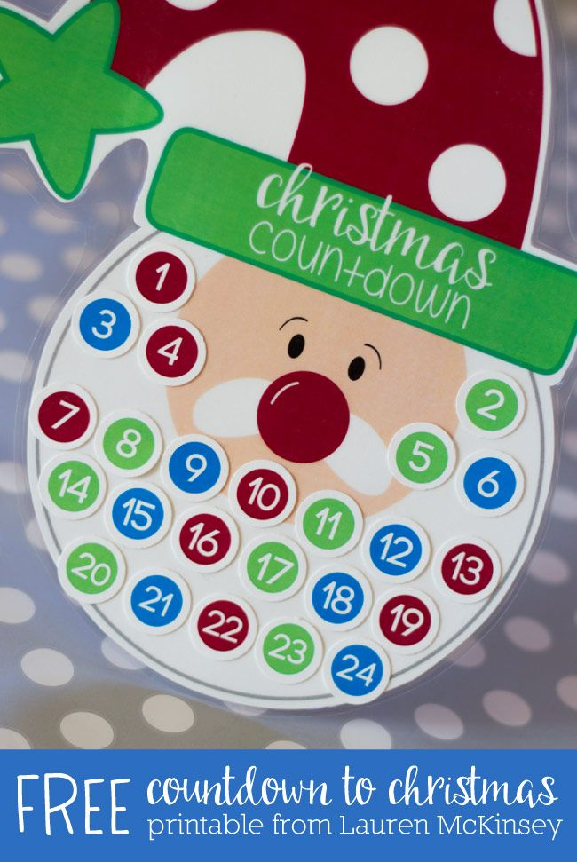 Amazing Countdown To Christmas Craft Ideas Part - 7: Diy Christmas Countdown