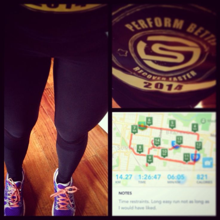 Long run today in my awesome new skins gear!