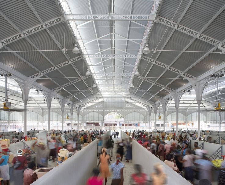 Iron Market Reconstruction by John McAslan + Partners #Architecture