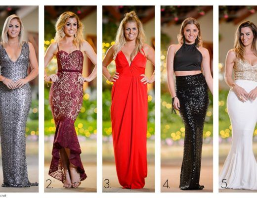 Rose Ceremony Dresses The Bachelor 2016 by Forty Up