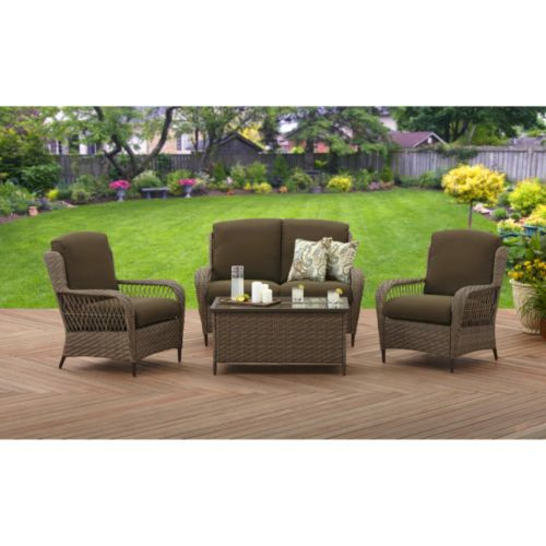 4 Piece Conversation Set Original Better Homes And . Better Homes And GardensOutdoor  FurnitureHome ... Part 19