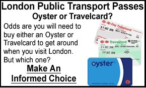London Public Transport Passes - Oyster or Travelcard?