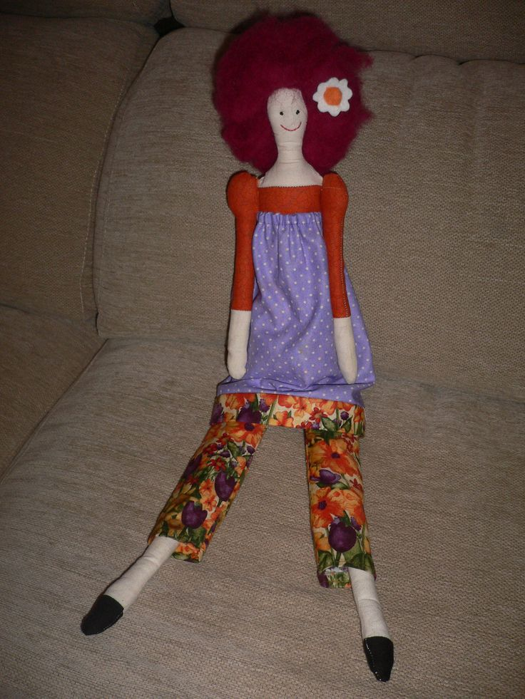 Muñeca Maider panpina Tilda Doll
