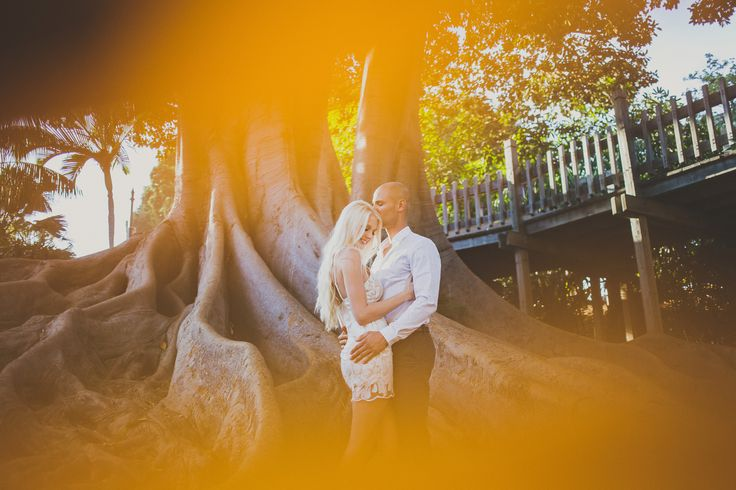 Engagement Photos At Balboa Park In San Diego