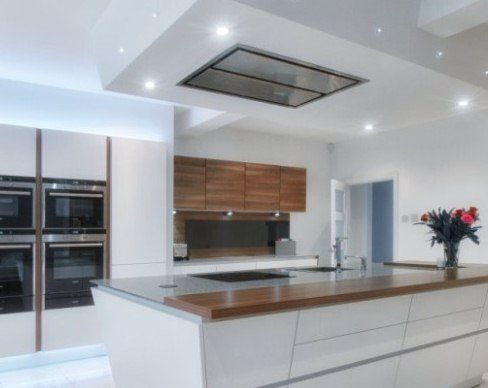 Best Cirrus Glass ceiling cooker hood